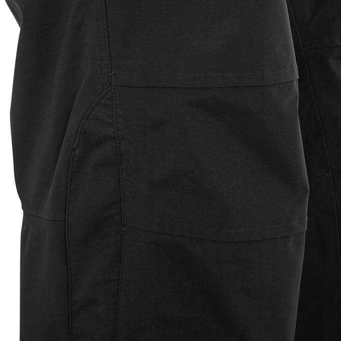 Sur pantalon imperméable équitation 500 2en1 noir - 405897