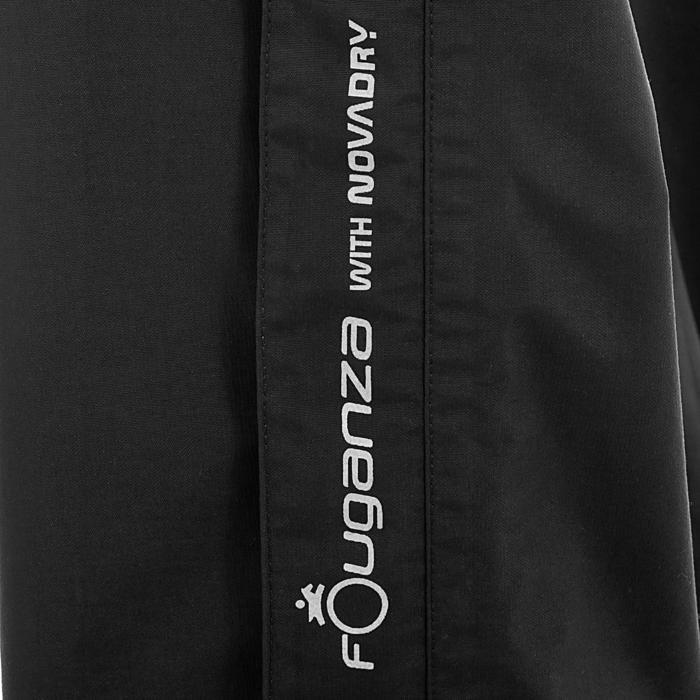 Sur pantalon imperméable équitation 500 2en1 noir - 405899