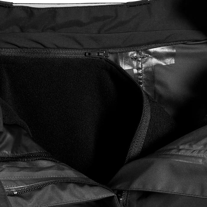 Sur pantalon imperméable équitation 500 2en1 noir - 405901