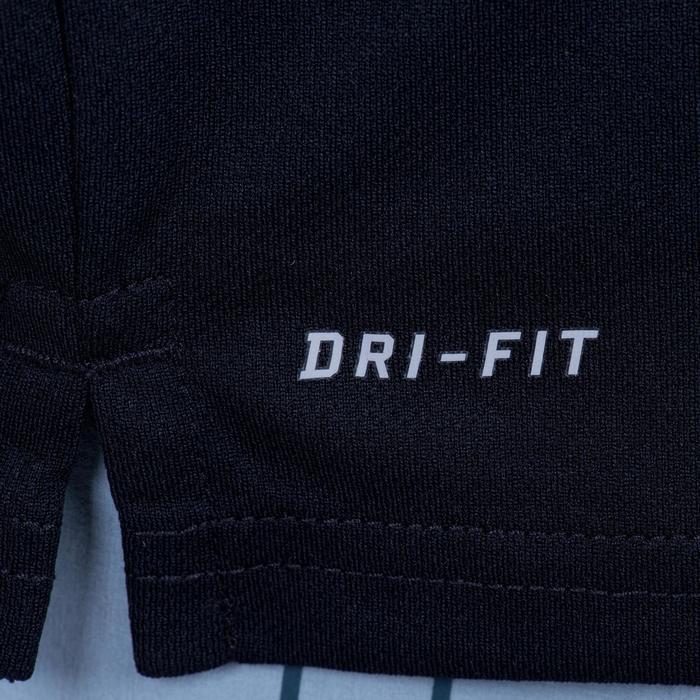 Tennispolo heren Nike Net zwart badminton/tafeltennis/padel/squash