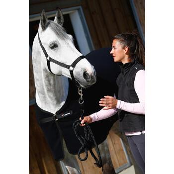 Chemise d'écurie équitation cheval et poney POLAR 200 noir - 406321