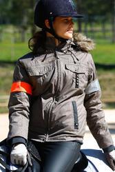 Warme damesjas Tosca ruitersport - 406361
