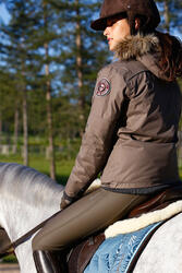 Warme damesjas Tosca ruitersport - 406365