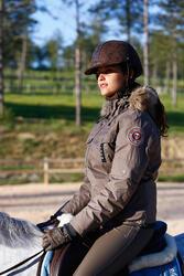 Warme damesjas Tosca ruitersport - 406368