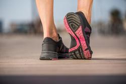 Damessneakers Propulse Walk zwart/roze - 406407