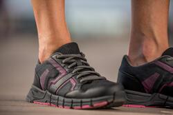 Damessneakers Propulse Walk zwart/roze - 406409