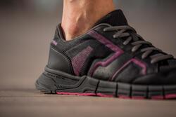 Damessneakers Propulse Walk zwart/roze - 406410