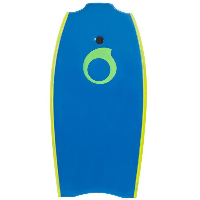 "Bodyboard 100 42"" bleu vert livré avec leash - 406457"