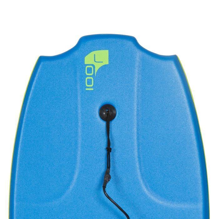 "Bodyboard 100 42"" bleu vert livré avec leash - 406465"
