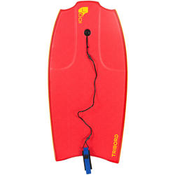 "Bodyboard 100 L (42"") met slick en leash"