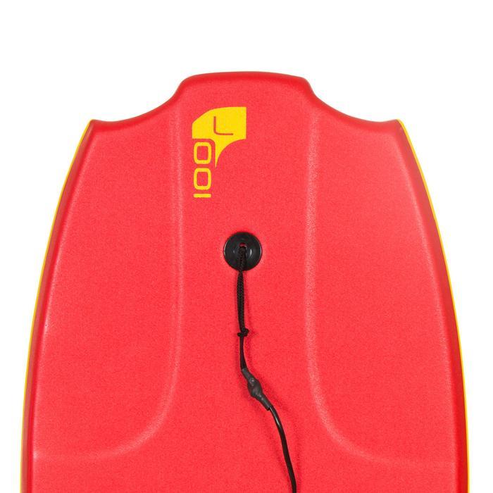 "Bodyboard 100 L (42"") avec semelle de glisse et leash - 406470"