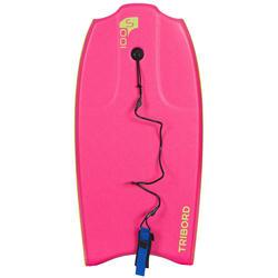 """Bodyboard 100 S (35"""") met slick en leash."""