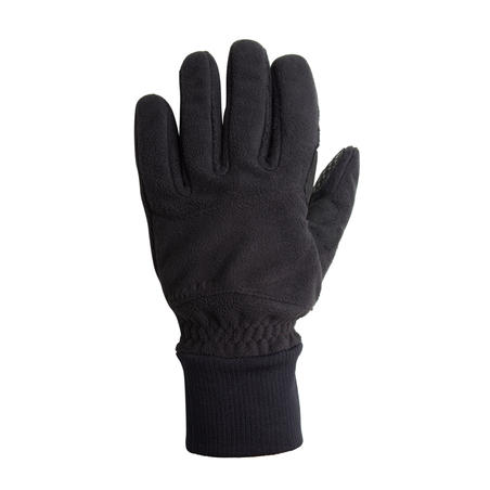 כפפות חורף לרכיבה מפליז דגם 100 - שחור