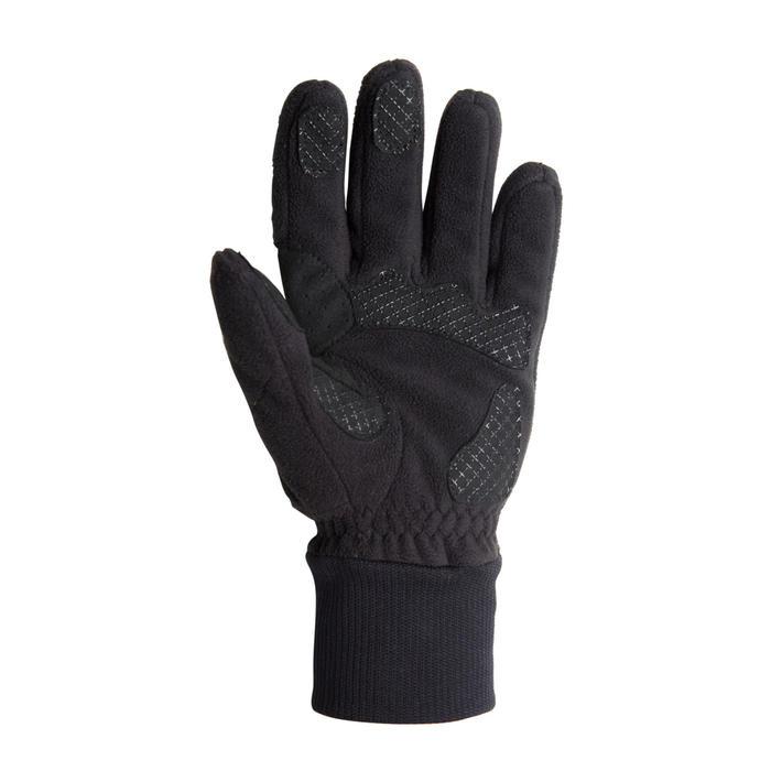Fleece fietshandschoenen 100 winter zwart