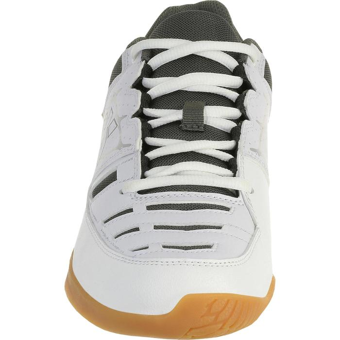 Chaussures de volley-ball adulte V100 blanches - 406875