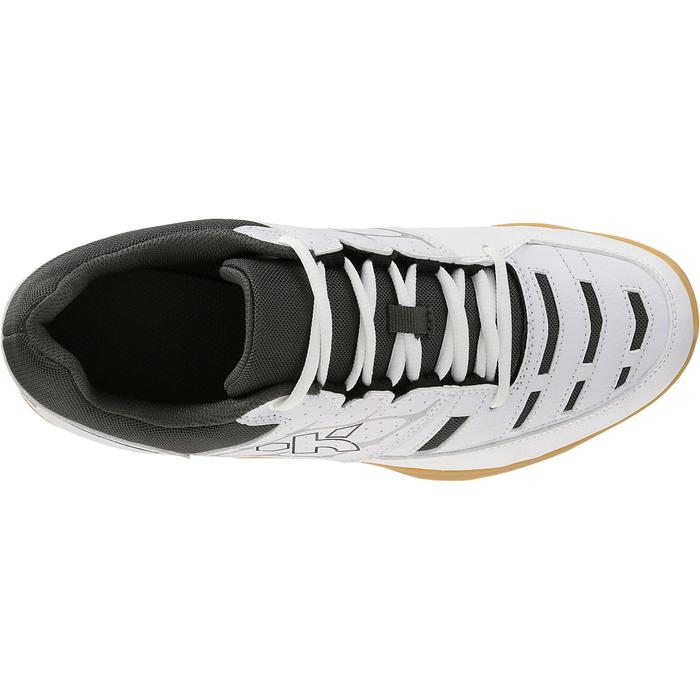 Chaussures de volley-ball adulte V100 blanches - 406876