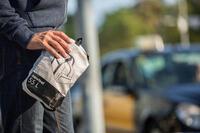 55 L folding Duffle bag - mottled grey