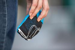 Kleine opvouwbare rugzak voor dagelijks gebruik Pocket Bag blauw met pijlen - 407412