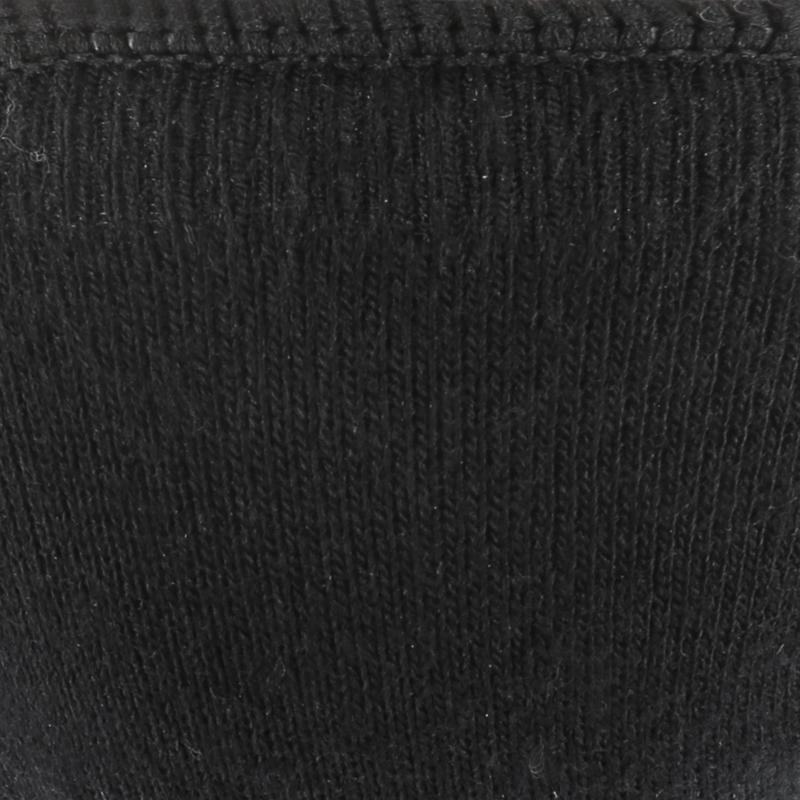 Active walking ballerina pumps socks - black