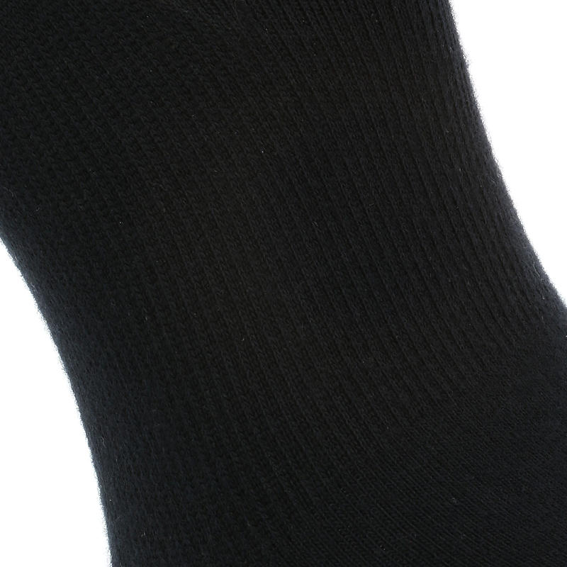 Invisible 500 Women's Fitness Walking Socks - Black