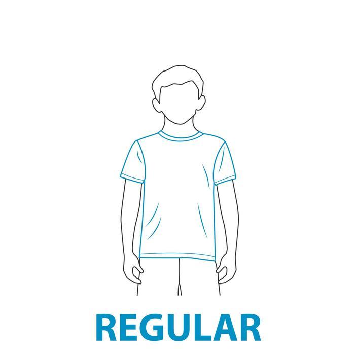 water tee shirt anti UV surf manches courtes enfant - 407674