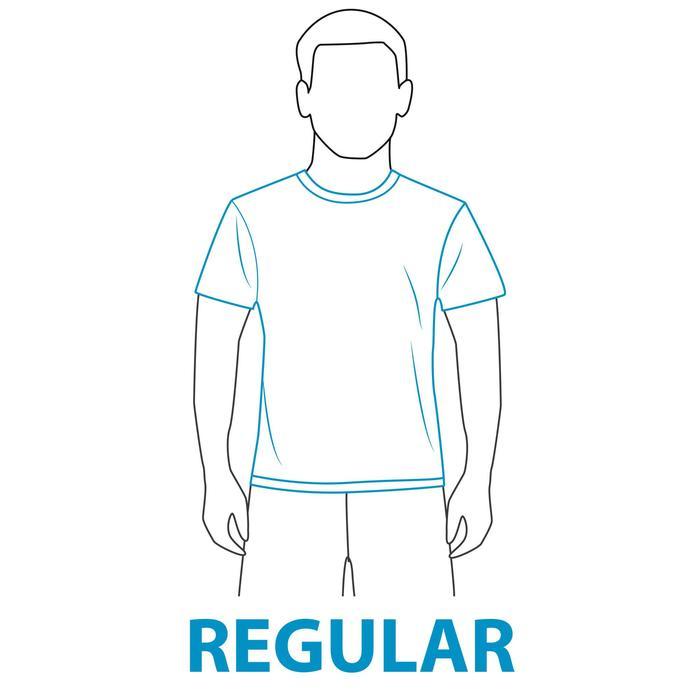 WATER T-SHIRT anti-UV Manches courtes Homme Bleu