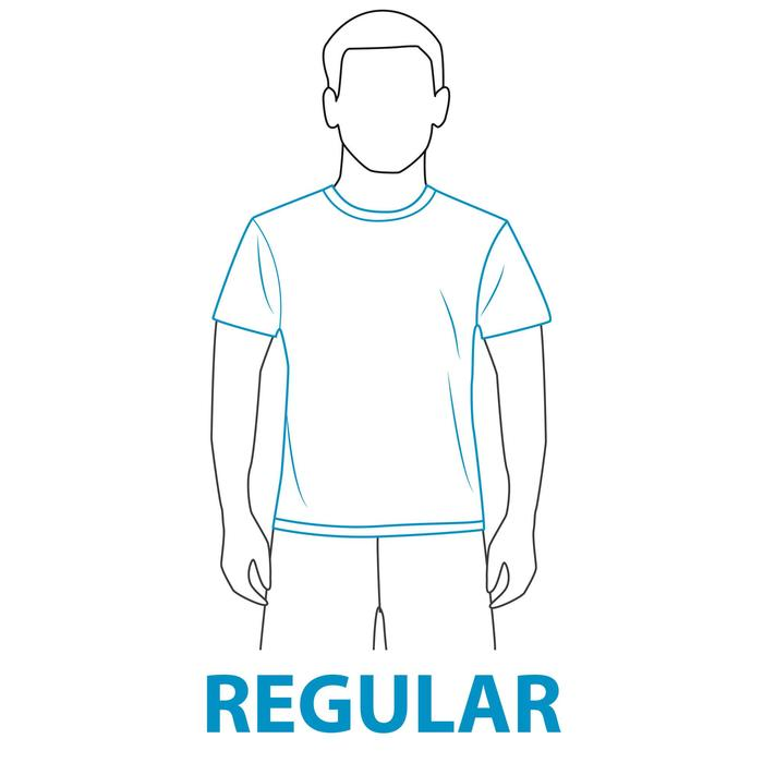 water tee shirt anti UV surf manches courtes femme - 407677