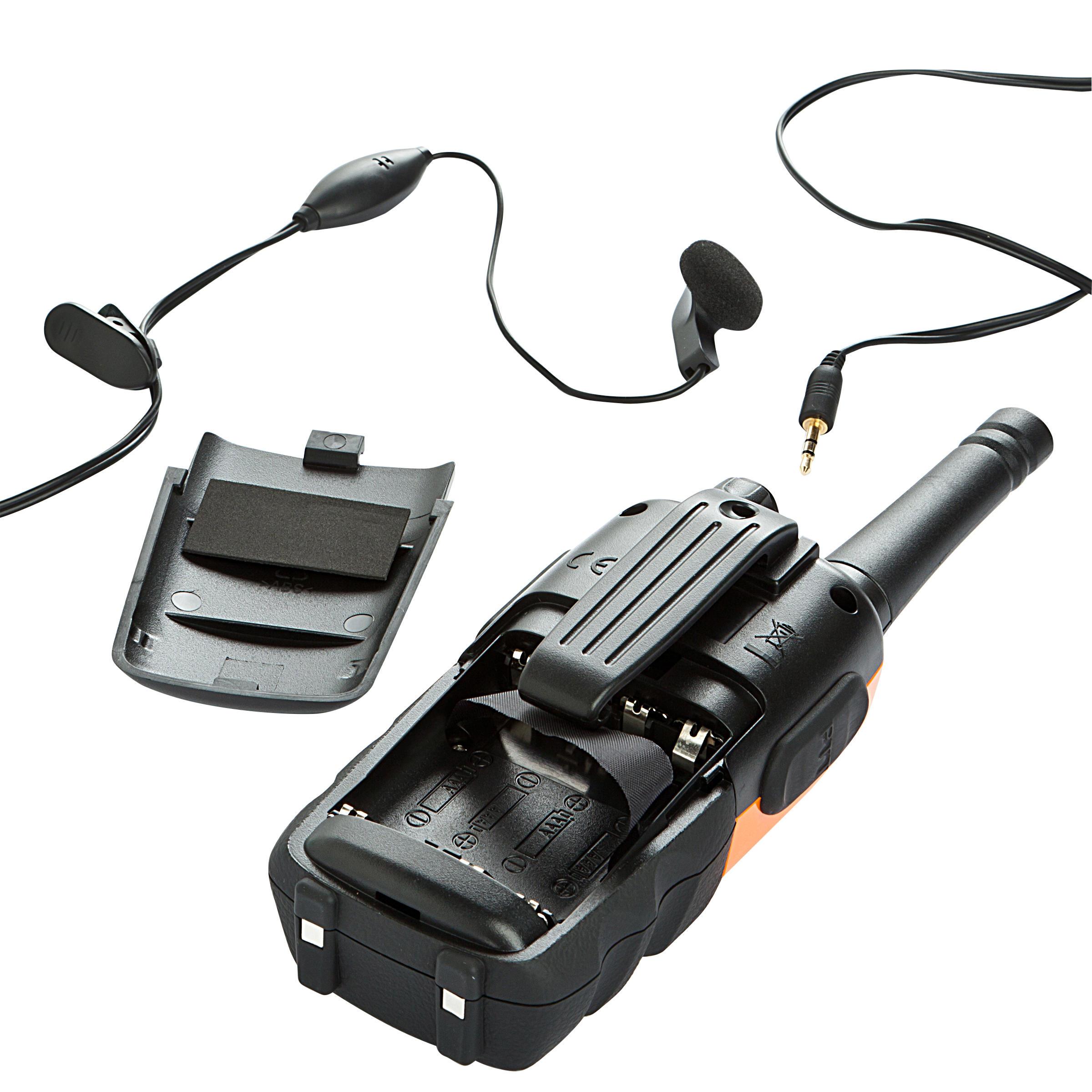 Talkie-walkie ONchannel 710 orange et noir