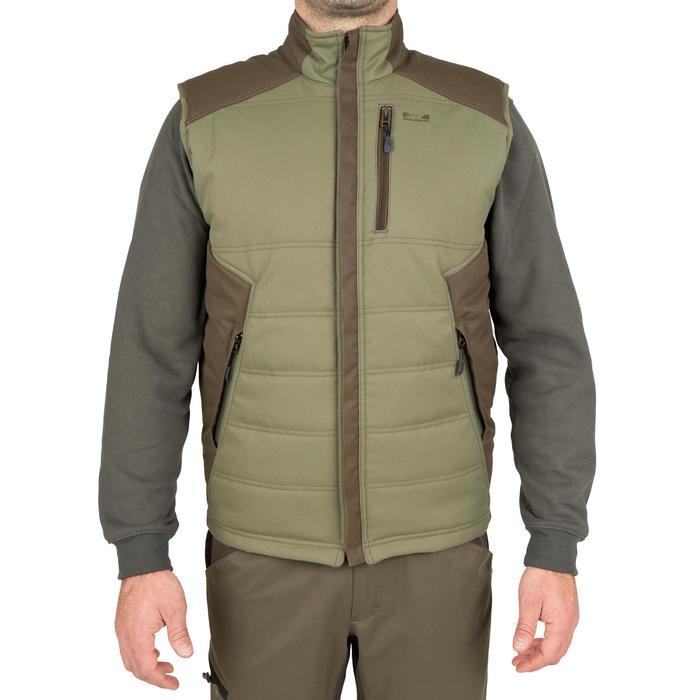Gilet chasse 300 vert - 40897