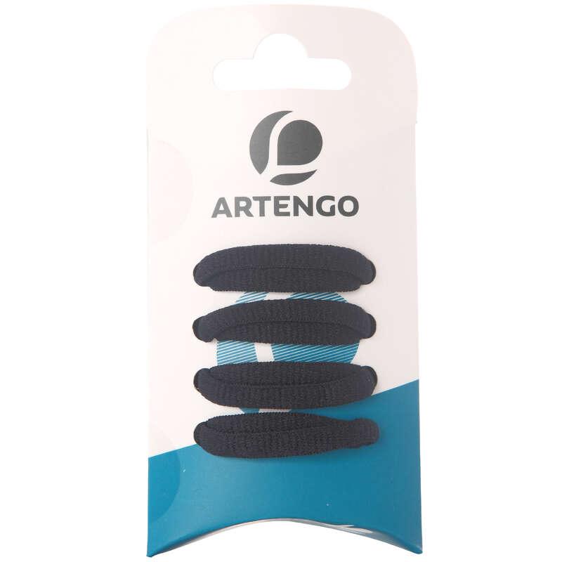 ACCESSORI SCARPE TENNIS Sport di racchetta - Stringhe ovali nere ARTENGO - Scarpe tennis