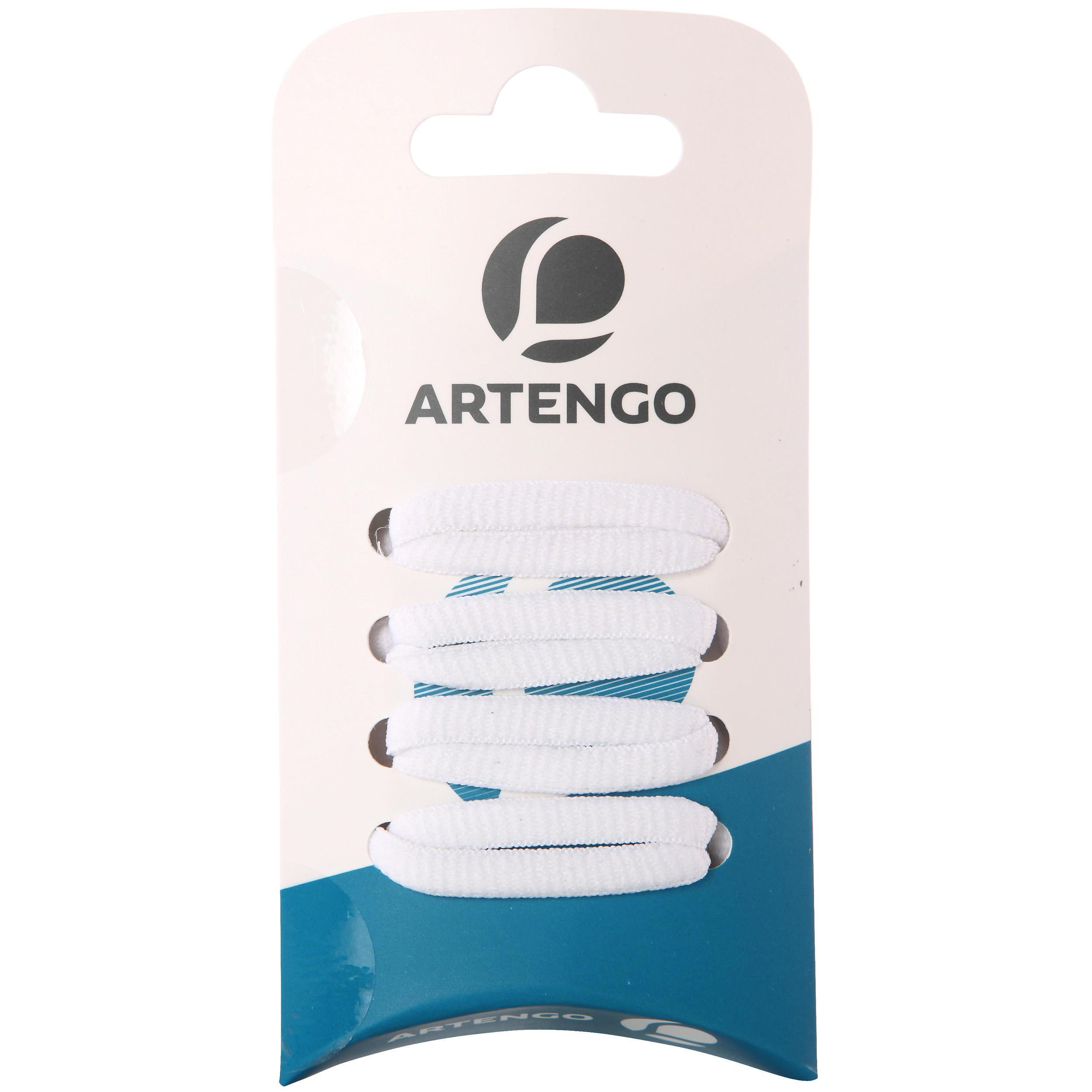 Oval Laces - White - 110 CM By ARTENGO | Decathlon