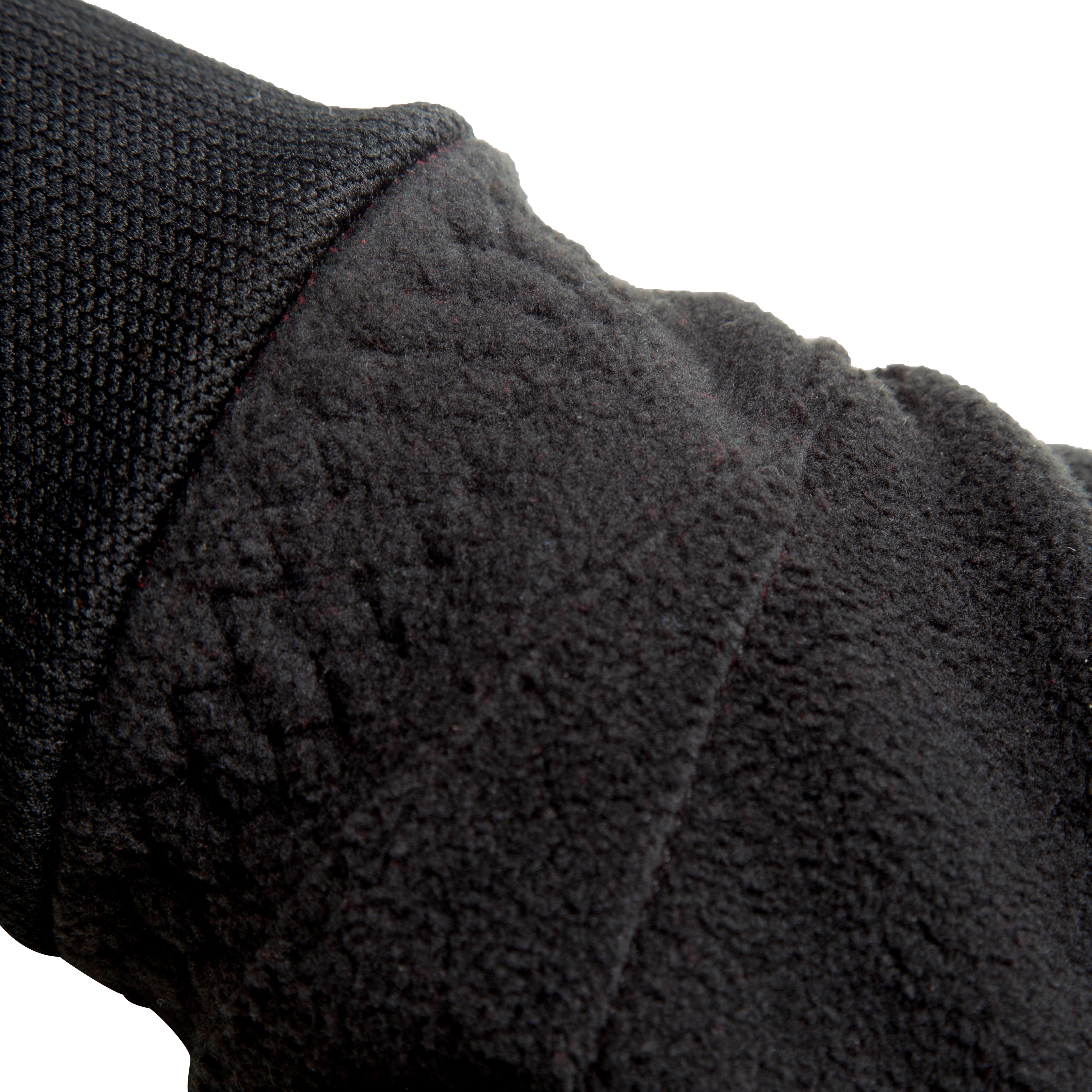 100 Winter Cycling Fleece Gloves - Black