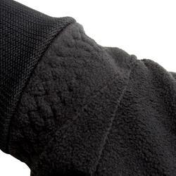 Fahrrad-Winterhandschuhe 100 Fleece schwarz