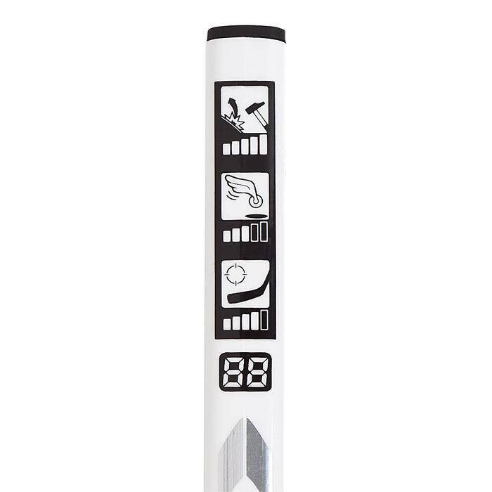 Crosse de hockey adulte  XLR 9 blanche - 409433