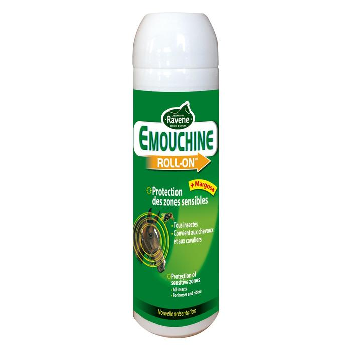 Roll on Repelente Insectos Equitación EMOUCHINE 100 ml Caballo y Poni