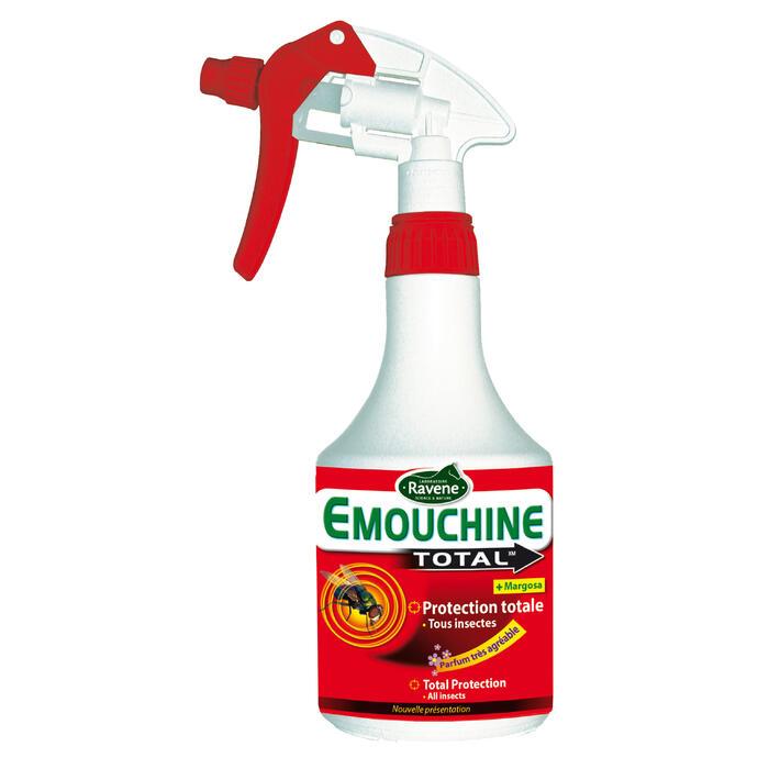 Spray équitation cheval et poney EMOUCHINE TOTAL 500 ML