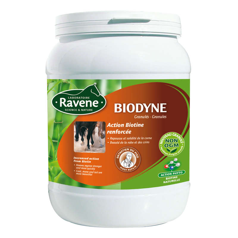 HORSE SUPPLEMENTS Horse Riding - Biodyne Supplement 1kg RAVENE - Horse Stable and Yard