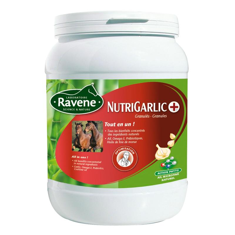 Complément alimentaire équitation cheval et poney ail NUTRIGARLIC - 900GR