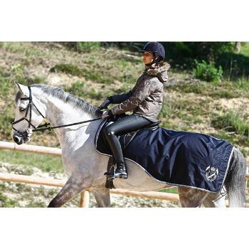 Pantalon imperméable chaud et respirant équitation femme KIPWARM - 409858