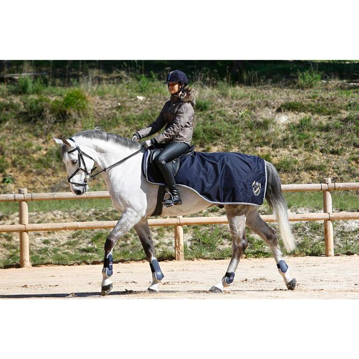 Pantalon imperméable chaud et respirant équitation femme KIPWARM - 409861