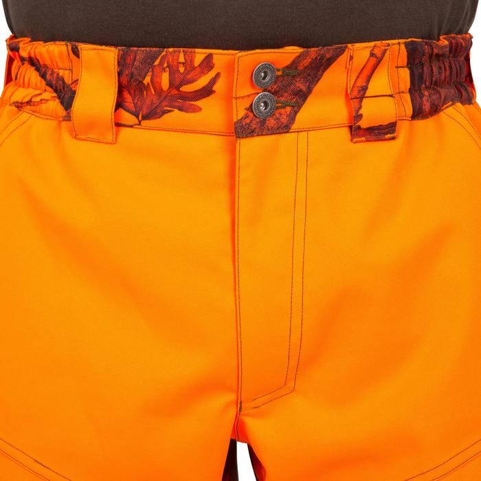 PANTALON CHASSE SUPERTRACK 300 CAMOUFLAGE ORANGE