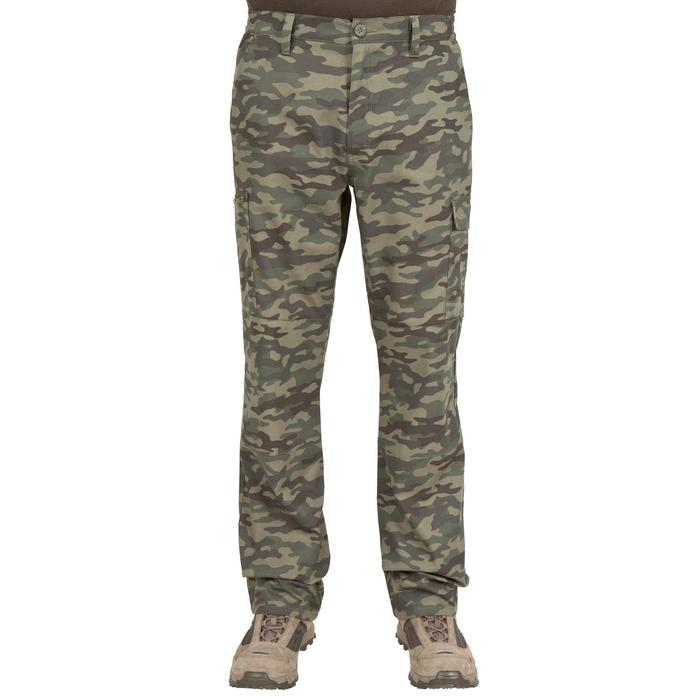 Pantalón caza Steppe 300 newood verde
