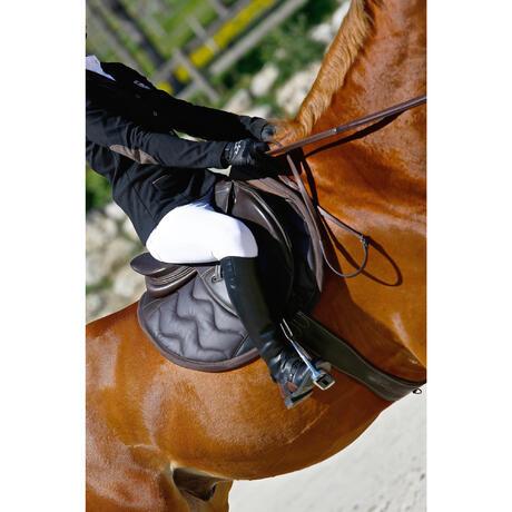 Schabracke tinckle pferd braun fouganza - Schabracke braun ...