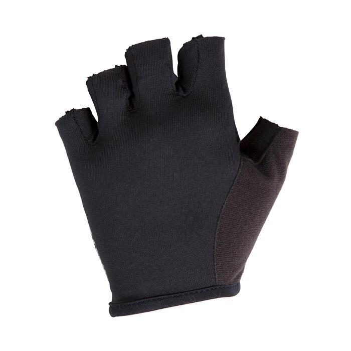 Kinder wielrenhandschoenen ST 100 zwart