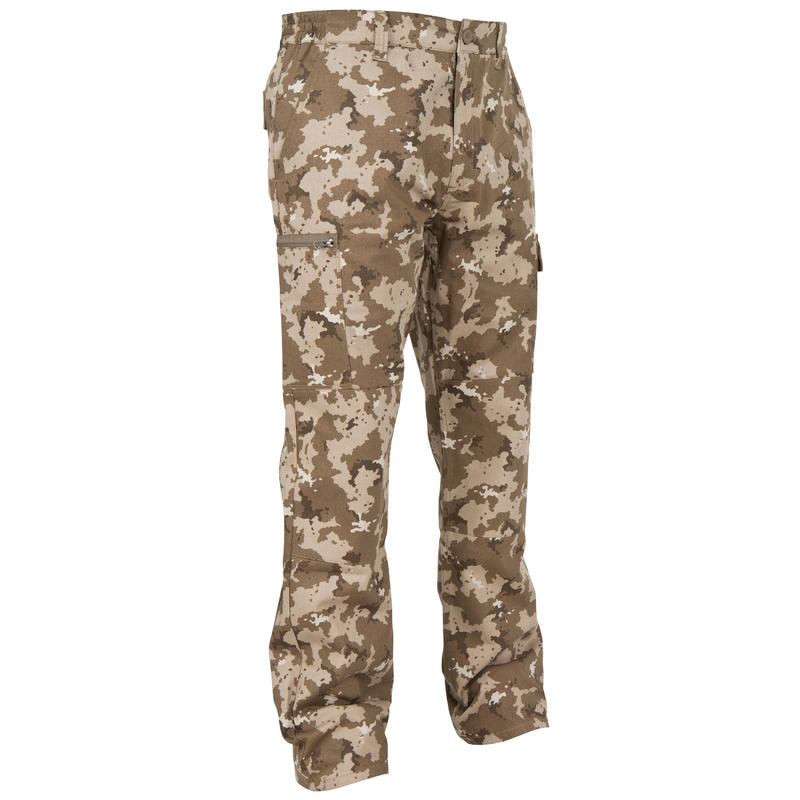 Hunting Trousers Steppe 300 Island beige