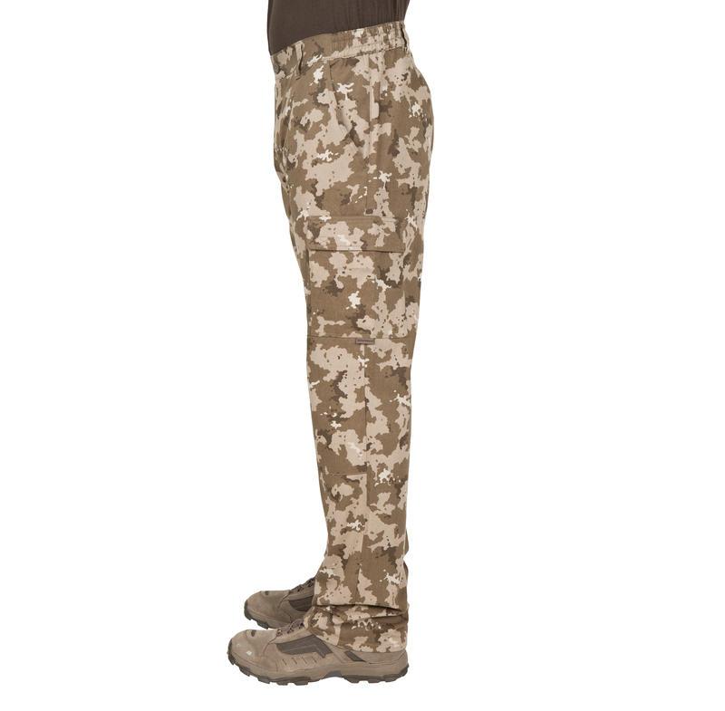 Pantalon chasse Steppe 300 island beige