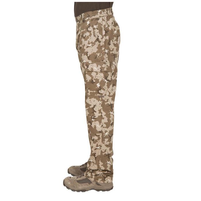 Jagdhose Steppe 300 Camouflage Island beige