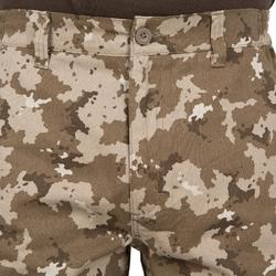 Jagdhose Steppe 300 Camouflage beige