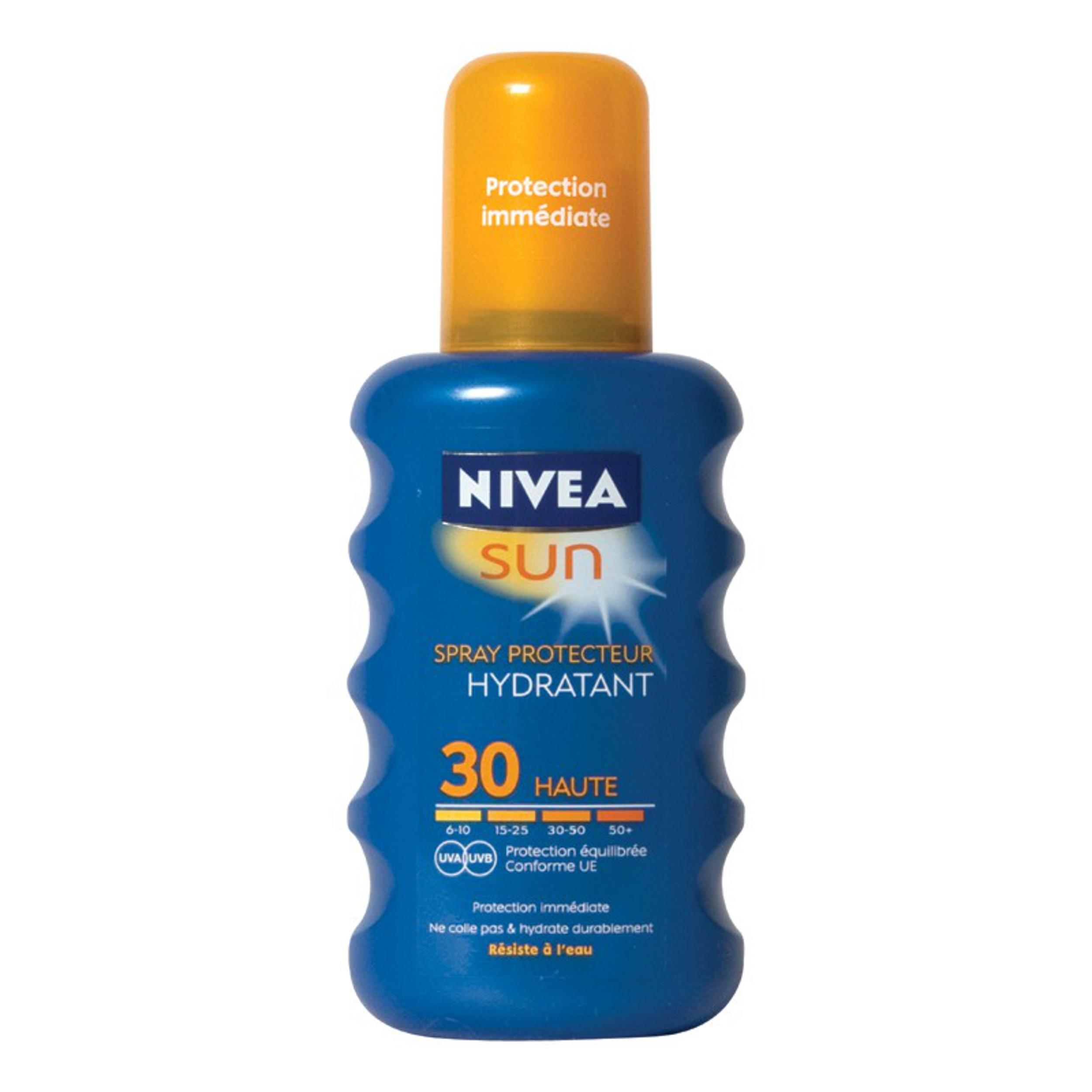 Nivea Sun Zonnebrand Spray Factor(spf)30 Waterproof 200ml