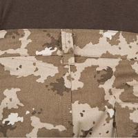 Pantalon chasse camouflage et résistant Steppe 300 island beige